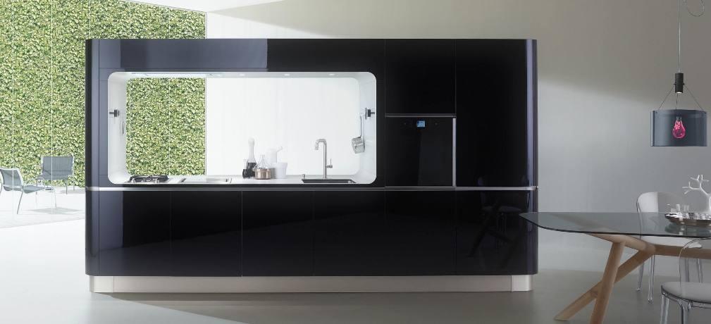 Liquida frame un petit bijou pour la cuisine sign veneta cucine paris - Cuisine ultra design ...