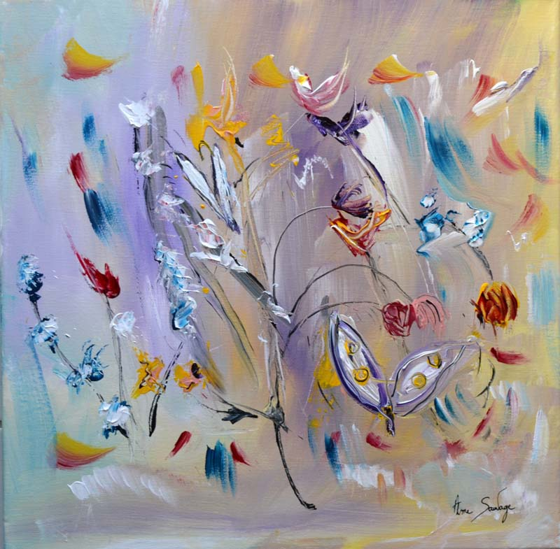 Häufig Ame Sauvage - Artiste peintre contemporain de style abstrait SG83