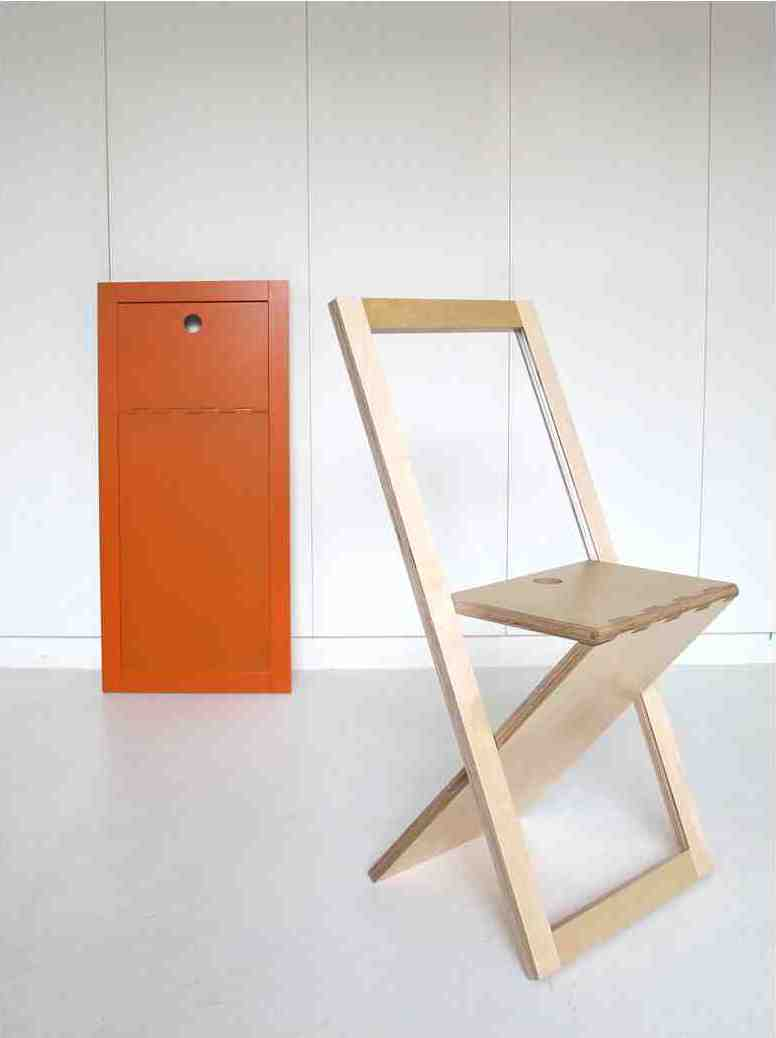 La chaise woodmood un concept minimaliste en exclusivit for Chaise en bois pliable