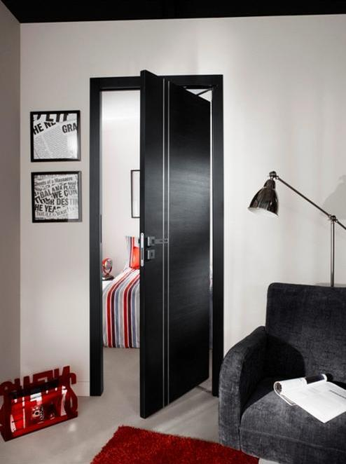 equipez vos portes int rieures la pointe de la technologie avec lapeyre. Black Bedroom Furniture Sets. Home Design Ideas