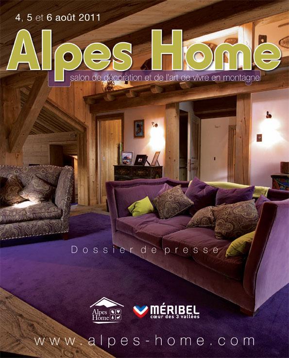 Alpes home le salon de la décoration de montagne
