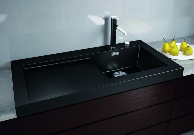module vier pr t poser en silgranit chez blanco. Black Bedroom Furniture Sets. Home Design Ideas