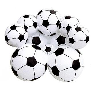 Tendance deco des si ges design so hight teck - Fauteuil ballon de foot ...