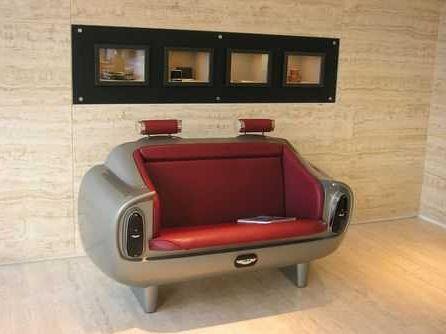 Des canap s design originaux for Canape design cars