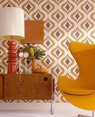 Salon année 70's appartement bourgeaois  Galerie Decarts