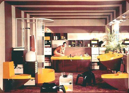 Le style ann e 70 for Interior design 70s house