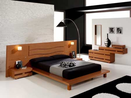 un lit de r ve design dans sa chambre coucher. Black Bedroom Furniture Sets. Home Design Ideas