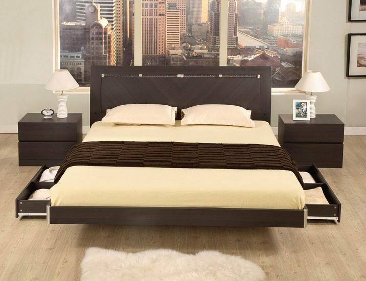 Un lit de r ve design dans sa chambre coucher for Lit moderne 2017