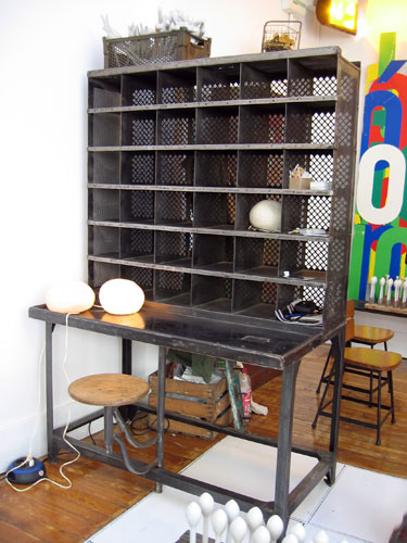 Salon vintage paris 2008 stand atelier 154 for Bio concept meubles