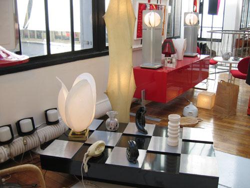 Salon vintage paris 2008 stand galerie details val rie - Objet de decoration salon ...