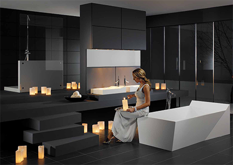 Decoration design salle de bain