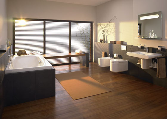 deco salle de bain design. Black Bedroom Furniture Sets. Home Design Ideas