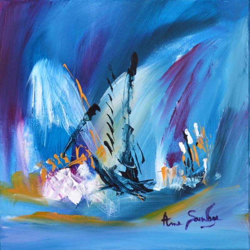 Ame sauvage artiste peintre contemporain de style abstrait for Peintres abstraits