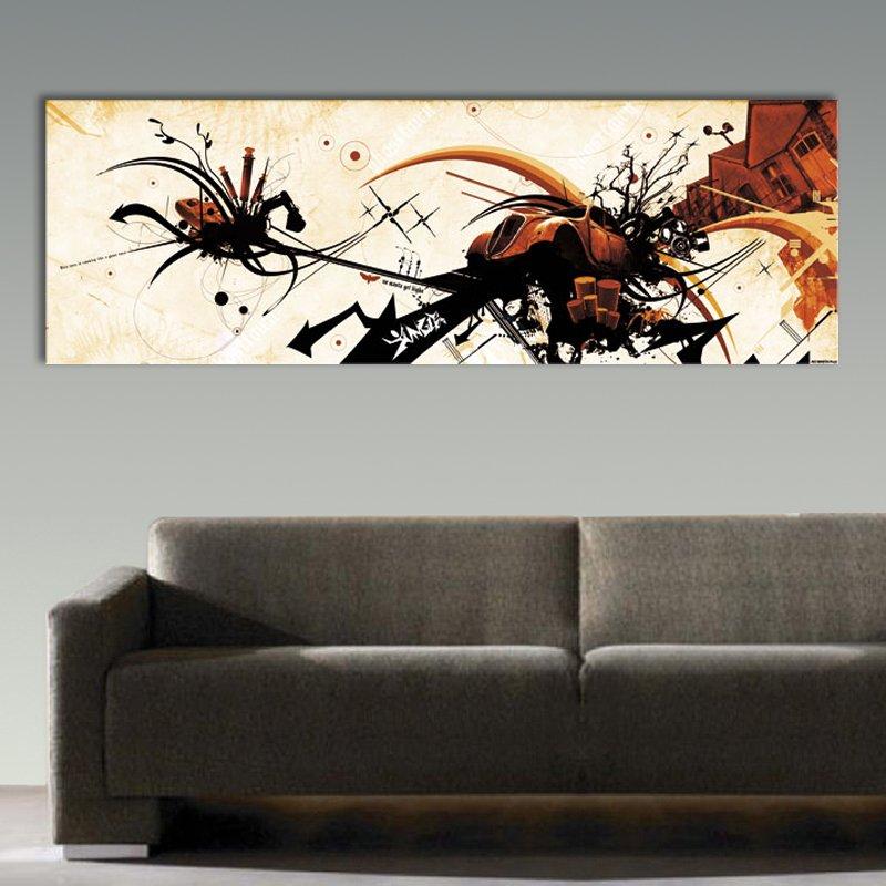 tableaux design pas cher affordable toile decoration murale pas cher avec tableau abstrait. Black Bedroom Furniture Sets. Home Design Ideas
