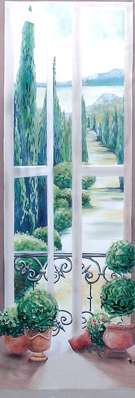 Trompe l oeil peinture trompe l oeil peinture trompe l for Peinture trompe l oeil tableau