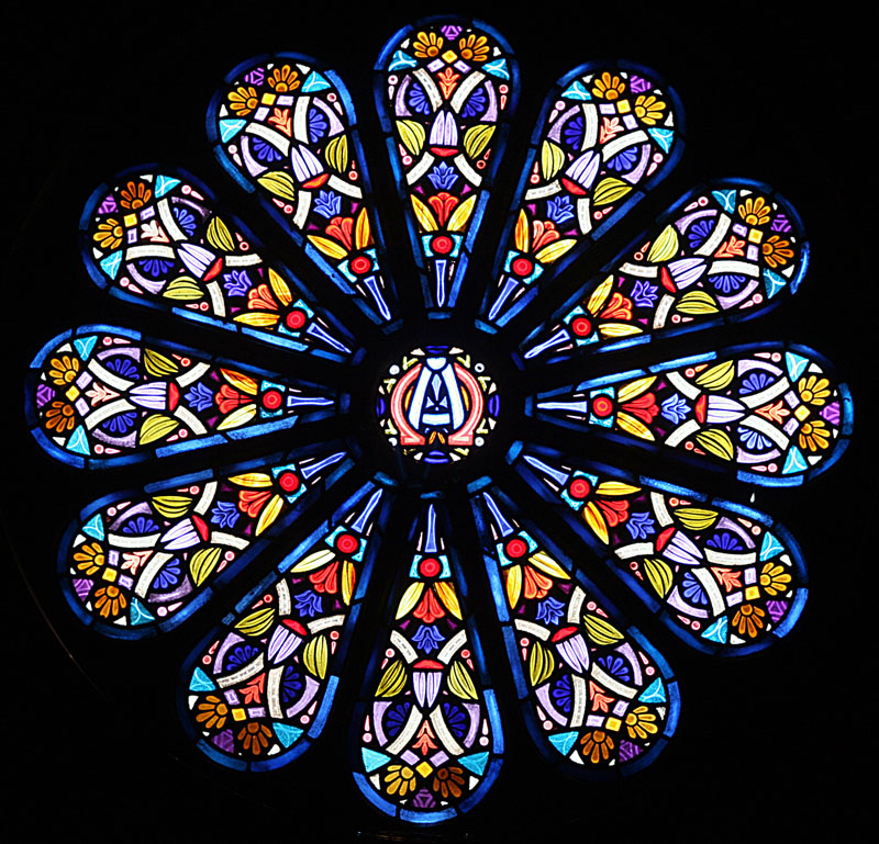 Les vitraux fabriquer ou peindre un vitrail - Comment faire des rosaces ...