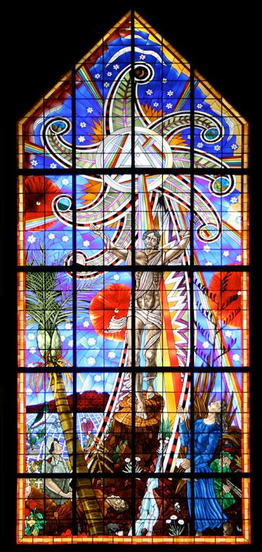 Les vitraux fabriquer ou peindre un vitrail for Vitraux decoration interieure