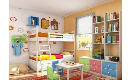 optimiser le rangement dans une chambre d enfant. Black Bedroom Furniture Sets. Home Design Ideas