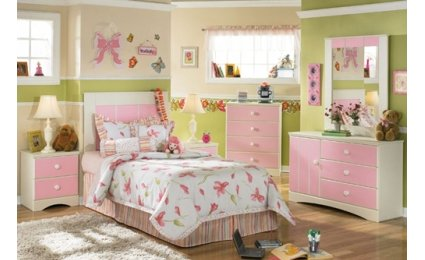 tendances d co pour une chambre de petite fille. Black Bedroom Furniture Sets. Home Design Ideas