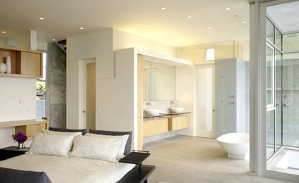 Awesome Salle De Bain Ouverte Sur Chambre Humidite Gallery ...