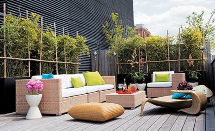 comment instaurer une ambiance zen sur votre terrasse. Black Bedroom Furniture Sets. Home Design Ideas