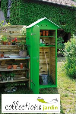 Collections jardin mobilier de jardin d coration d 39 ext rieur - Cabane a outil ...